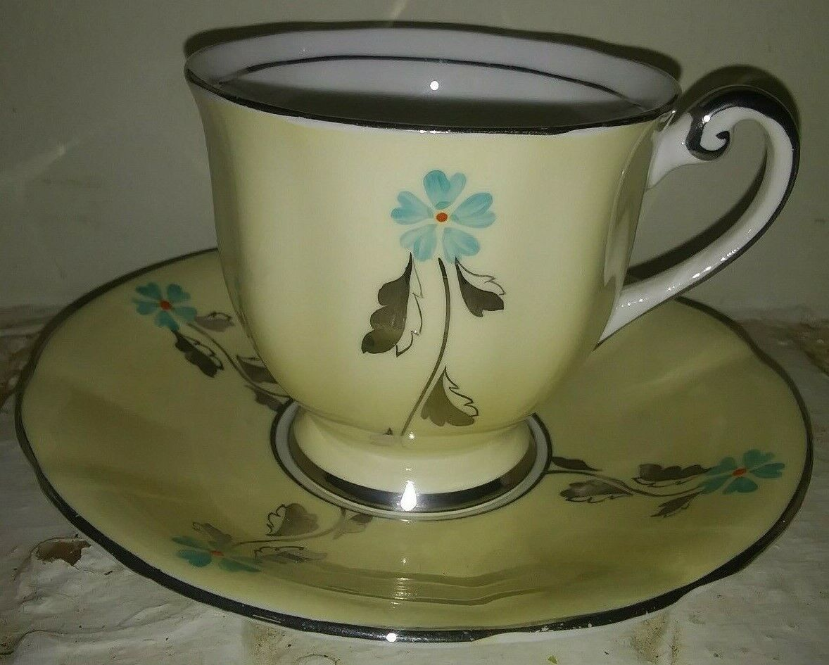 Vintage Tea Cup And Saucer Bone China Made In England. - $9.99