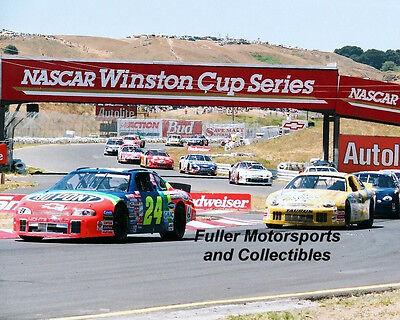Jeff Gordon  24 Wins At Sonoma Sears Point 1999 Nascar Winston Cup 8X10 Photo