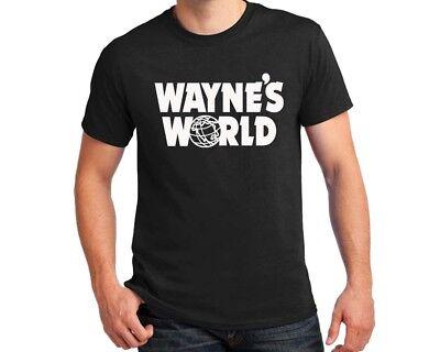 Wayne's World T-shirt Wayne Campbell Algar Halloween Costume party cosplay - Wayne's World Halloween
