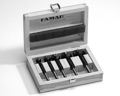 FAMAG Bormax® Treppenbau-Satz im Holzkasten, Holzbohrer 5-teilig