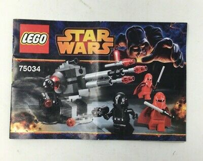Lego Star Wars Death Star Troopers 75034 Instruction Manual.