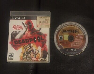 Deadpool (Sony PlayStation 3, PS3) Pre-owned
