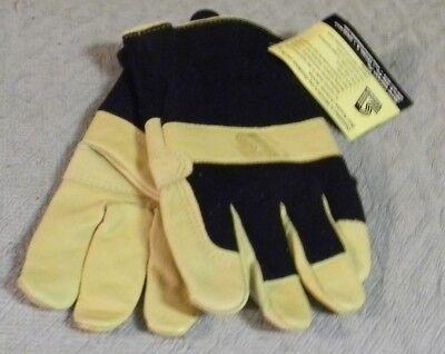- Steiner P244-X Drivers Gloves, Grain Pigskin Palm, Spandex Back, Extra Large