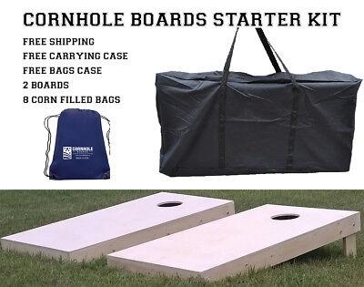 DIY Non Painted Cornhole Boards Starter Kit - Made in America! - Diy Corn Hole