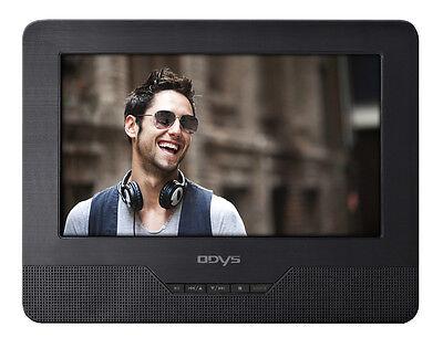 Odys Seal 7 Zoll TWIN portabler DVD Player Auto Car 2 Bildschirmen SD-Card USB