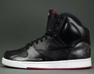 2009 Nike RT1 High OG YEEZY SZ 13 Black Red BRED Revolution Trainer 354034-001