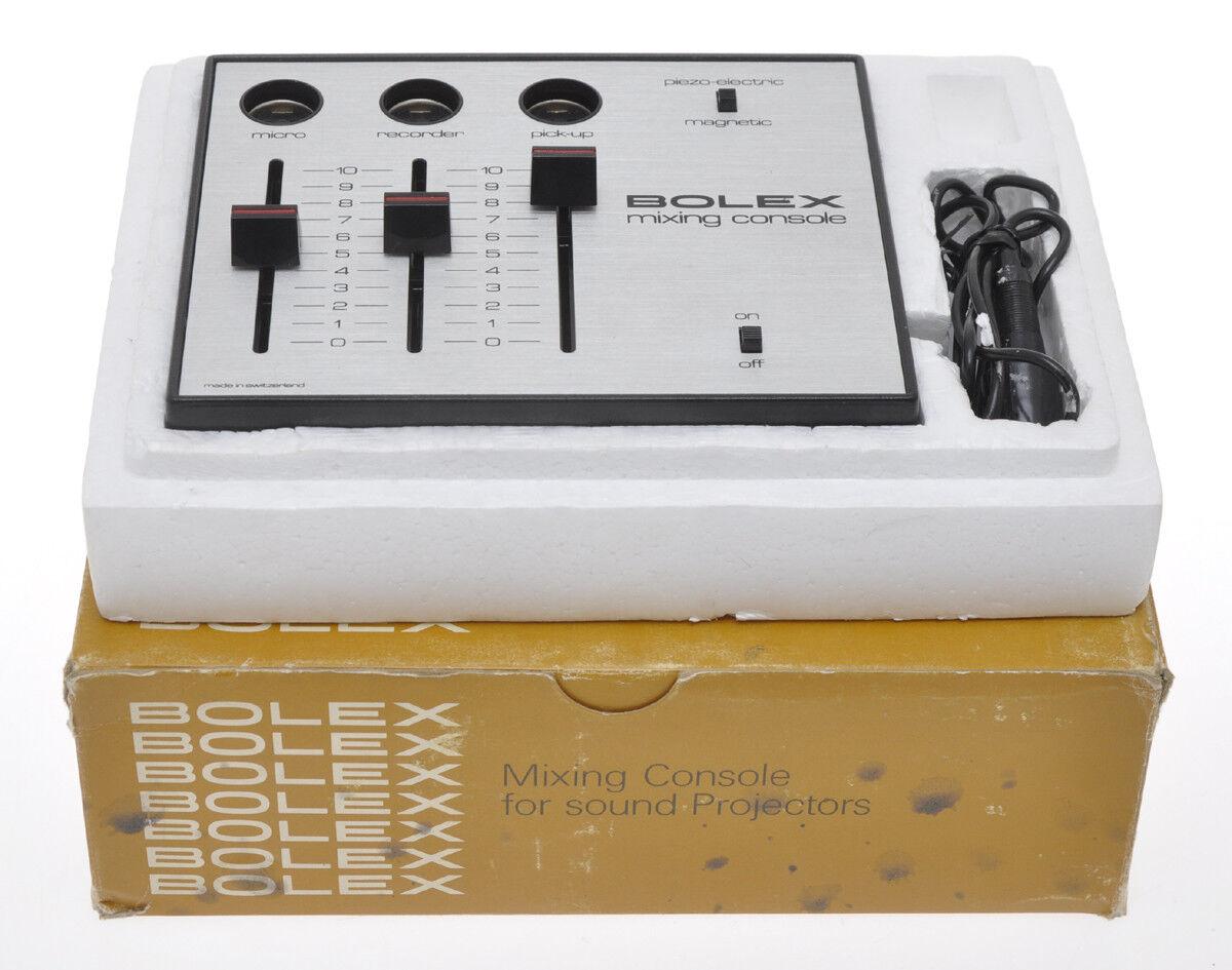 Bolex console di missaggio per proiettori sonori, sold as is