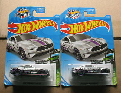 HOT WHEELS WALMART ZAMAC LOT OF 2 2018 FORD MUSTANG GT