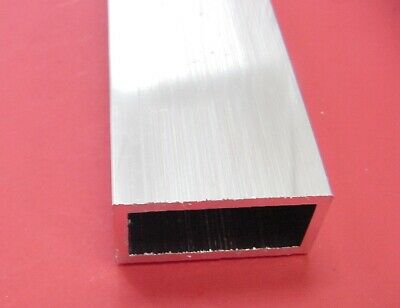 2 X 4 X 14 Wall 6061 T6 Aluminum Rectangle Tube 12 Long