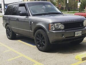 2007 Range Rover super charged