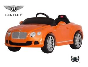 Electric Ride On Toy Car Bentley + Wireless Remote