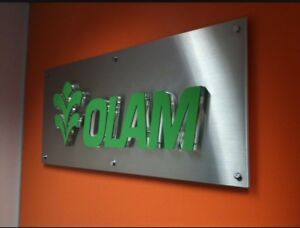 Reception Signs, Corporate Logos, Entrance Signs, Plaques