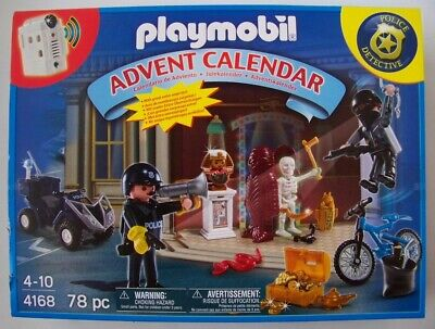 Playmobil Police Museum Break In Advent Calendar NEW christmas 4168