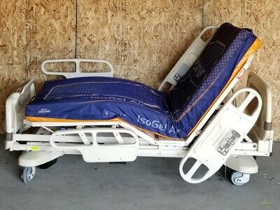 Stryker Mps Secure Patient Hospital Bed W Mattress Buttons Tested
