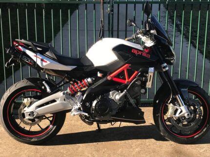 Aprilia Shiver Sport ABS, Italian V Twin,may trade Rd bike,$6900.