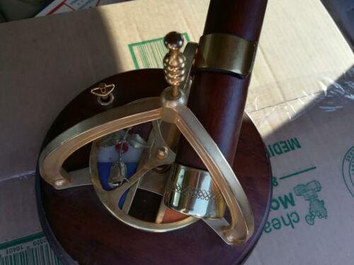 "Brass & Wood Kaleidoscope Music Box ""As-San Francisco"" with Love Story Music"