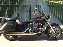 Yamaha VStar XVS1300A Classic, many extras,may trade road bike. Launceston Launceston Area Preview
