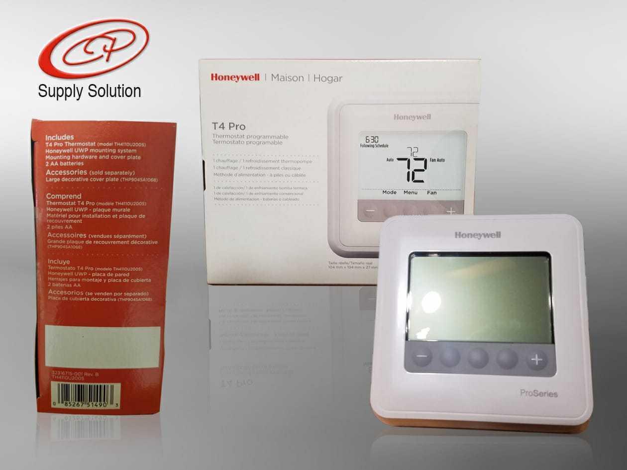 Honeywell TH4110U2005/U T4 Pro Programmable Thermostat