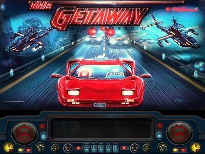 THE GETAWAY Complete LED Lighting Kit custom SUPER BRIGHT PINBALL LED KIT