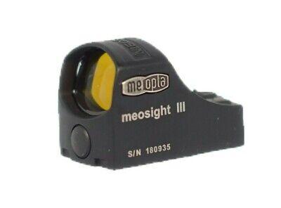 Meopta Meosight III 3 Leuchtpunktvisier, 3 MOA, mit Adapterplatte, NEU