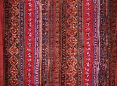 Indian Print Tapestry Cotton Bedspread 106