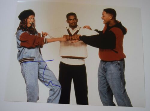 Tatyana Ali Signed Autographed 11x14 Photo THE FRESH PRINCE OF BEL AIR COA VD