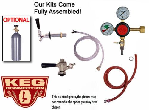 1 Tap Refrigerator Kegerator, Keezer Commercial Conversion Kit