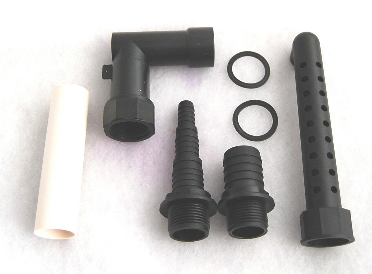 Filter Pumpe Schlauch optional mit UVC Gartenteichfilter Teichfilter Set incl