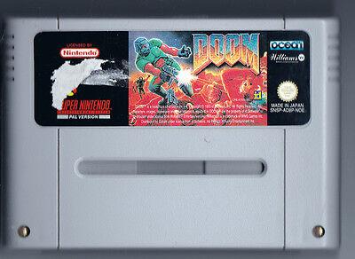 """Steinalt, aber nicht billig: Selbst für ein angekratztes Nintendo-""""Doom"""" zahlen Sammler 30 Euro. (© Gameplan.de)"""