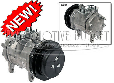 Ac Compressor Wclutch For Caseih John Deere Backhoes Combines Tractors