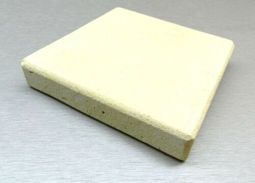 """CERAMIC BOARD HEAT PLATE JEWELRY SOLDERING MELTING 12""""x12"""" SQUARE TILE 1"""" THICK"""
