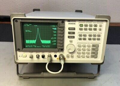 Hp Agilent 8560e Rf Spectrum Analyzer 30 Hz-2.9 Ghz Calibrated