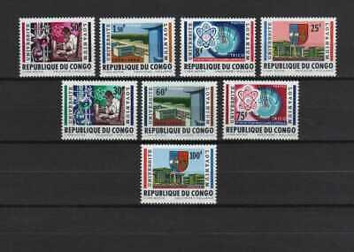 Belgisch Congo Belge - Rep. Congo n° 524/531 MNH University Lovanium c5.50Eu