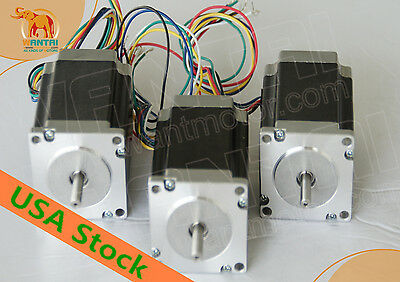 Usaeu Freenema23 Stepper Motor Dual Shaft 3n.m425oz-in 115mmengravingcnc