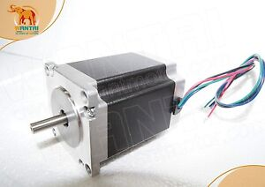 Wantai Nema23 Stepper Motor 57BYGH627 270oz-in 3A 76mm SINGLE shaft  4-Leads