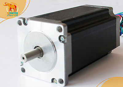 Usa Shipnema23 425oz-in Cnc Stepper Motor 3.0a Dual Shafts Engravelaser Cut