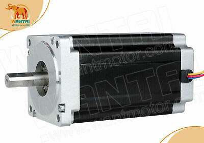 Us Free 1pc Nema34 Stepper Motor Cnc Kit 1700oz12n.m 6a 14mmshaft 85bygh450c
