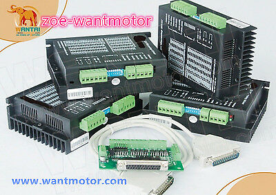 Usa Free4axis Wantai Stepper Motor Driver Dq542ma 50v 4.2a 128microste