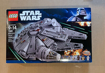 New LEGO STAR WARS Millenium Falcon 7965-1 Factory Sealed Retired Han Solo 2011