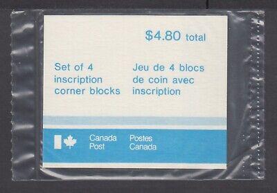 CANADA SEALED PLATE BLOCKS 791 PL2 1st -CLASS DEFINITIVE, QUEEN ELIZABETH II
