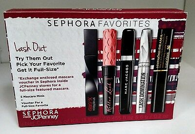 "Sephora Favorites ""Lash Out"" 5pc Sample set Mascara NoVoucher!!!"