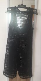 Fishnet jumpsuit from pretty little thing