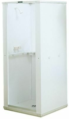 "Complete Shower Stall Kit 32"" x 32"" x 75"" Bathroom Enclosure Standard Base White"