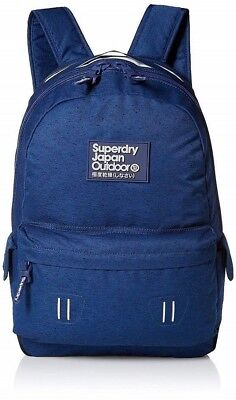 Superdry Real Montana Backpack, Navy, One Size New With Tags U91004DNDS Supreme