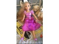 Large Rapunzel Doll 32 inches
