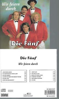 CD--WIR FEIERN DURCH DIE FÜNF (Wir Fünf Cd)