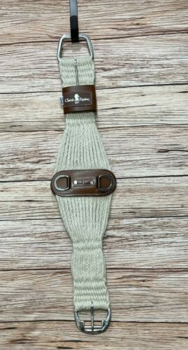 """NEW Classic Equine Mohair Roper Western Cinch with Leather Center - 30"""""""