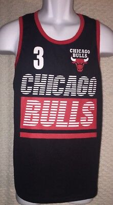 Used, Dwyane Wade Chicago Bulls Tank Top Jersey size Youth XL 18-20, pre-owned for sale  Shipping to Canada