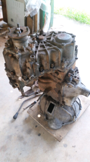 Landcruiser HJ75 gearbox and transfer case