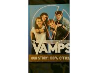 2 x The Vamps Book signing tour Birmingham Monday 24th October includes book